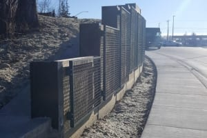 Yes- Retaining Wall Costco Bellingham